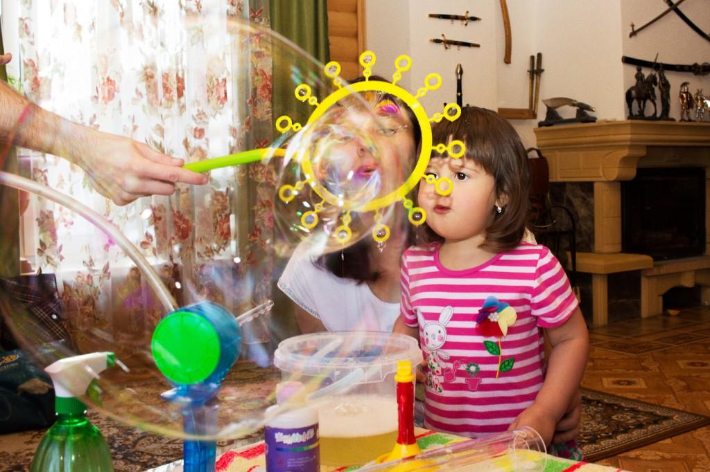 Как быстро дома сделать мыльные пузыри 671