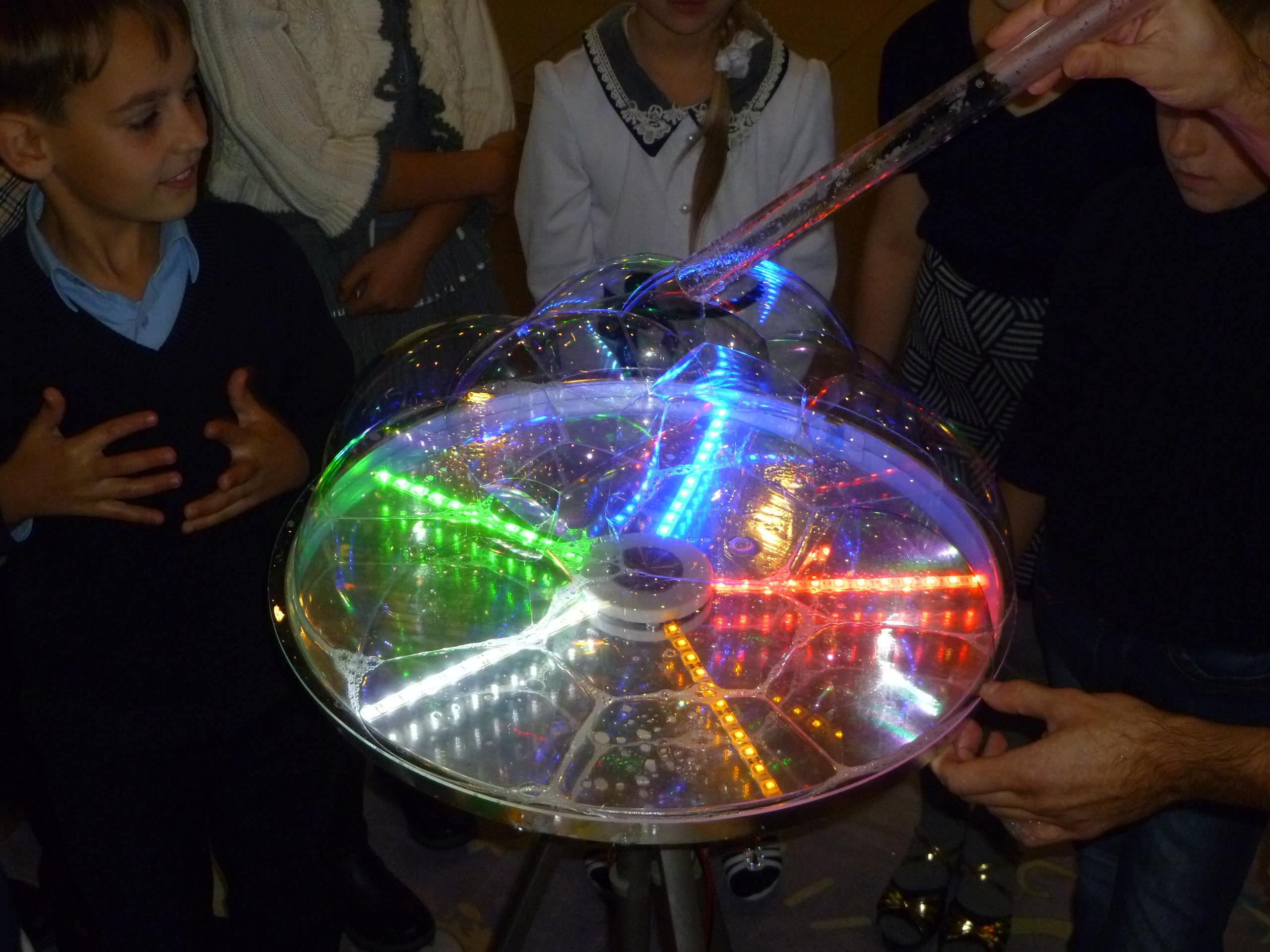 Инструменты для шоу мыльных пузырей